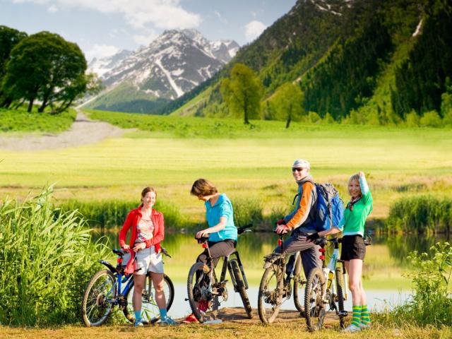 Radwandern auf den Almen